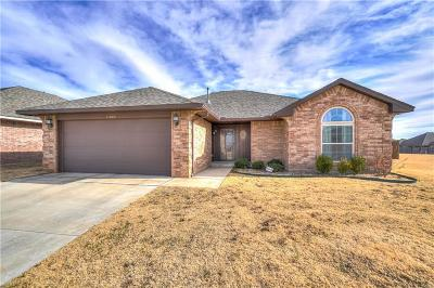 Edmond Single Family Home For Sale: 19608 Sonatina Drive