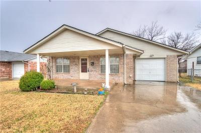 Midwest City OK Single Family Home Pending: $109,900