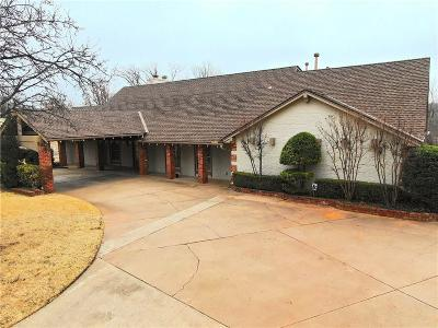 Oklahoma County Single Family Home For Sale: 9624 Castle Road