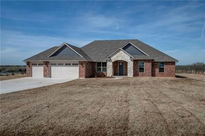 Blanchard OK Single Family Home For Sale: $275,000