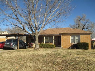 Weatherford Single Family Home For Sale: 408 N 4th
