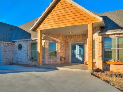 Blanchard OK Single Family Home For Sale: $649,900