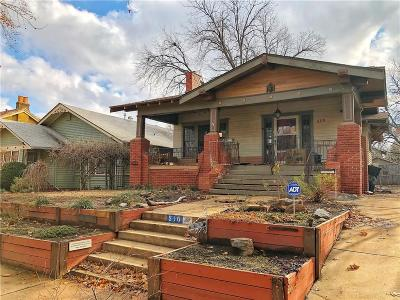 Oklahoma City Single Family Home For Sale: 516 NW 19th Street