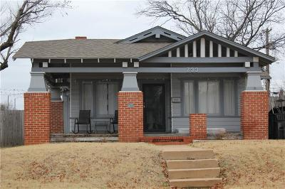 Oklahoma City Single Family Home For Sale: 733 NW 21st Street