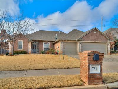 Lincoln County, Oklahoma County Single Family Home For Sale: 741 Tuscany Way