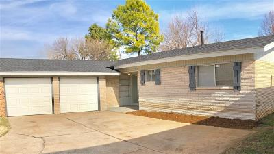Oklahoma City OK Single Family Home Sale Pending: $104,900