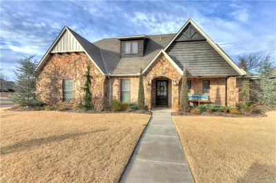 Edmond Single Family Home For Sale: 3117 Hillside Drive