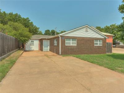 Weatherford Single Family Home For Sale: 209 E Arapaho Avenue
