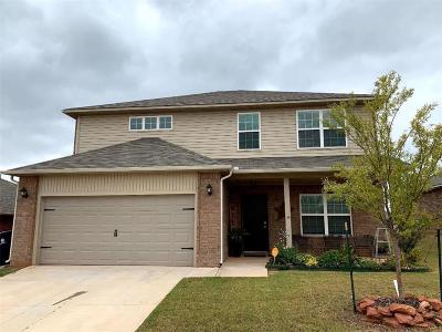 Moore Single Family Home For Sale: 9616 Eli Drive