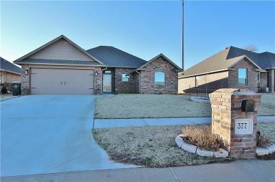 Blanchard OK Single Family Home For Sale: $178,500
