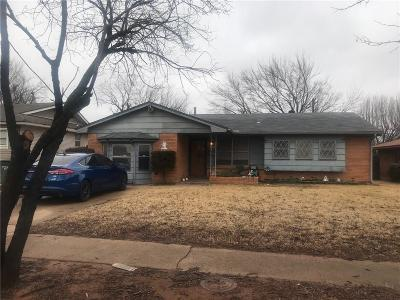 Del City Single Family Home For Sale: 3105 Neighbors Lane