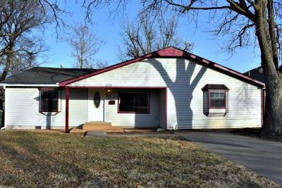 Chickasha OK Single Family Home For Sale: $98,000