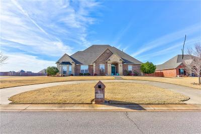 Choctaw Single Family Home For Sale: 801 Silver Tree Drive