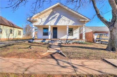 Luther Single Family Home For Sale: 216 S Ash Street
