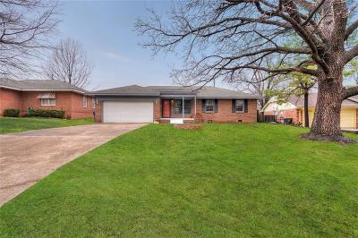 Chickasha OK Single Family Home For Sale: $149,900