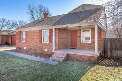 Oklahoma City OK Single Family Home For Sale: $126,000