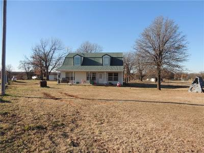 Wellston Single Family Home For Sale: 332600 E 930
