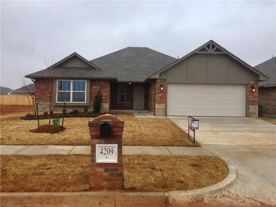 Edmond Single Family Home For Sale: 4209 NW 154th Street