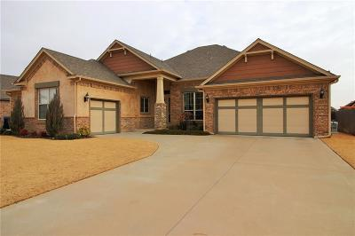 Edmond Single Family Home For Sale: 18512 Feliz Drive