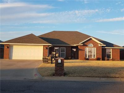 Altus Single Family Home For Sale: 1805 White Tail