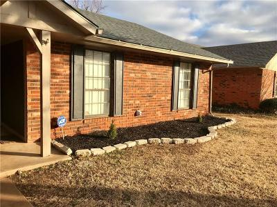 Oklahoma City OK Single Family Home For Sale: $155,000