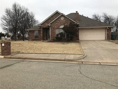 Edmond Single Family Home For Sale: 1115 Raliegh Circle