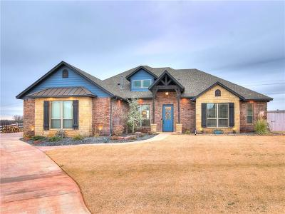Edmond Single Family Home For Sale: 13401 Scenic Circle