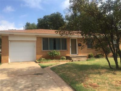 Weatherford Single Family Home For Sale: 515 E College