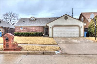 Midwest City Single Family Home For Sale: 1709 Shannon Drive