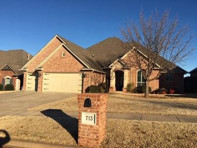 Edmond Single Family Home For Sale: 713 NW 193rd Street