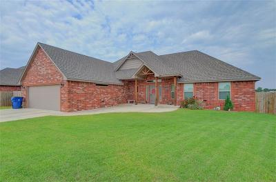 Blanchard OK Single Family Home Pending: $217,500