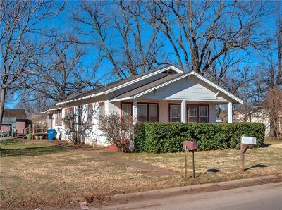 Tuttle Single Family Home For Sale: 407 SW 4th Street
