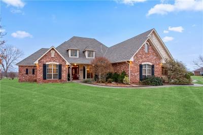 Edmond Single Family Home For Sale: 6135 W Caribou