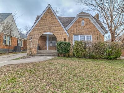 Oklahoma City Single Family Home For Sale: 2732 NW 22nd