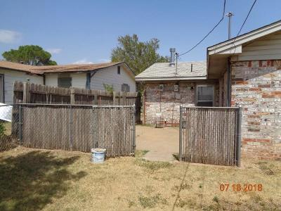 Altus Single Family Home For Sale: 1003 N Howse