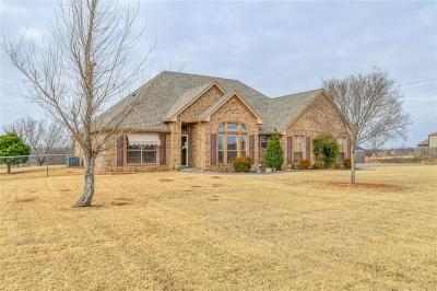 Blanchard OK Single Family Home For Sale: $224,700