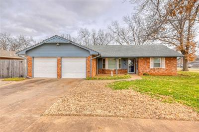 Edmond Single Family Home For Sale: 3216 Beverly Drive