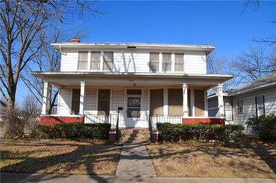 Guthrie Single Family Home For Sale: 1524 W Cleveland Avenue