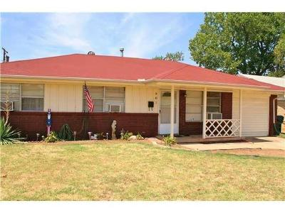 Midwest City Single Family Home For Sale: 901 N Juniper Avenue