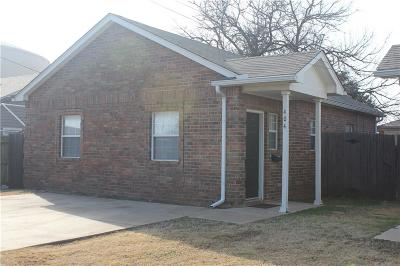 Edmond Single Family Home For Sale: 404 N Baumann Avenue