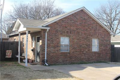 Edmond Single Family Home For Sale: 406 N Baumann Avenue