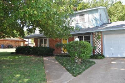 Chickasha OK Single Family Home For Sale: $144,900