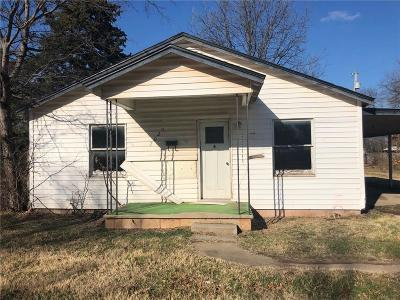 Chickasha OK Single Family Home For Sale: $24,900