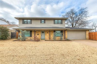 Oklahoma City Single Family Home For Sale: 6719 N Woodward Avenue