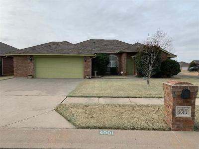 Moore Single Family Home For Sale: 4001 Green Apple Drive