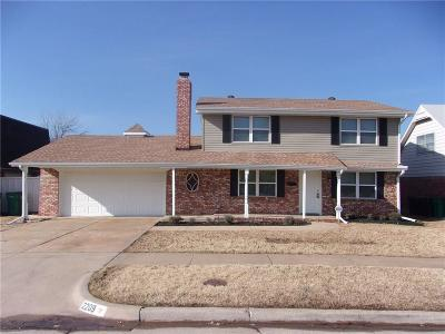 Oklahoma City Single Family Home For Sale: 2209 Flair