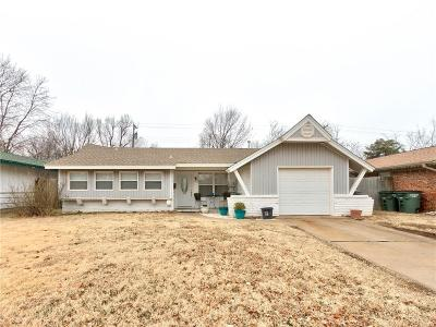Del City Single Family Home For Sale: 1417 Brookdale Dr