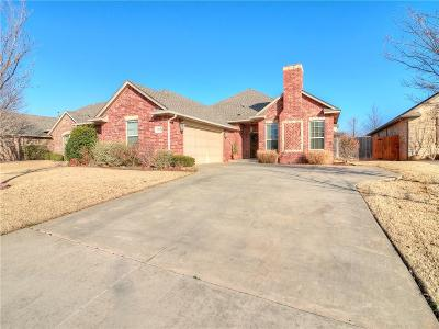 Edmond Single Family Home For Sale: 3912 Normandy Road