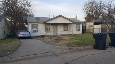 Oklahoma City OK Single Family Home For Sale: $48,900