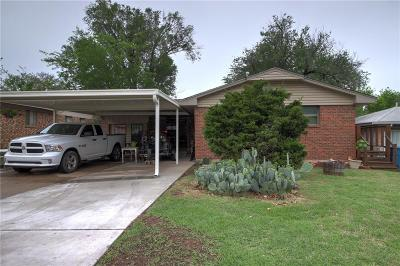 Midwest City Single Family Home For Sale: 901 Stiver Drive